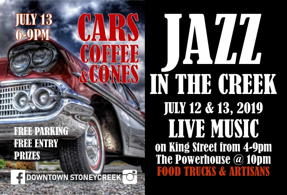 JAZZ CARS 2019 JULY 12 13 postcards FINAL bands
